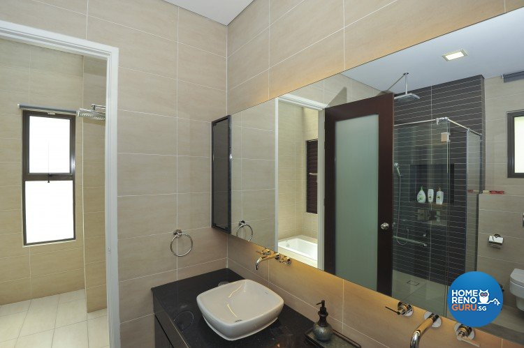 Contemporary, Minimalist, Modern Design - Bathroom - Landed House - Design by Amazon Interior Design