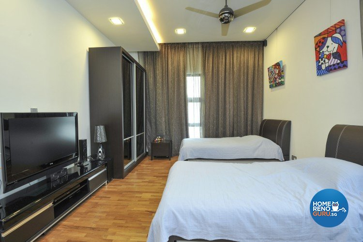 Contemporary, Minimalist, Modern Design - Bedroom - Landed House - Design by Amazon Interior Design