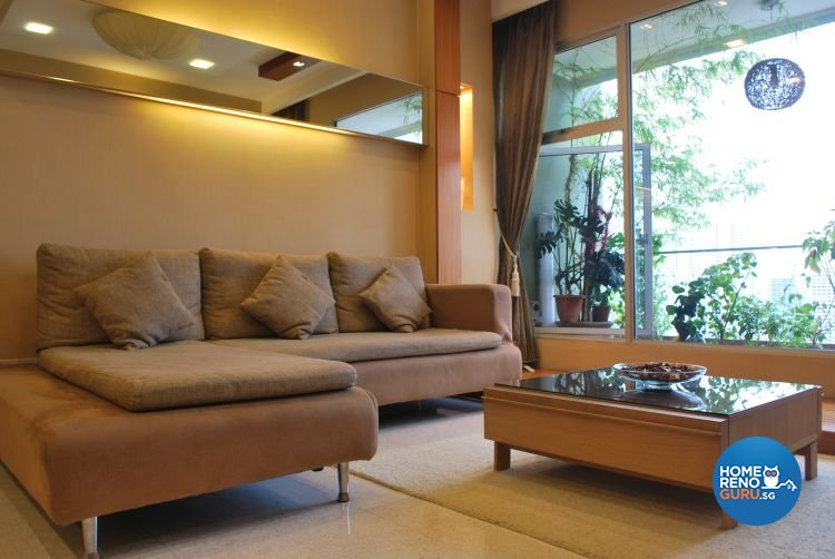 Classical, Modern, Retro Design - Living Room - Condominium - Design by Amazon Interior Design