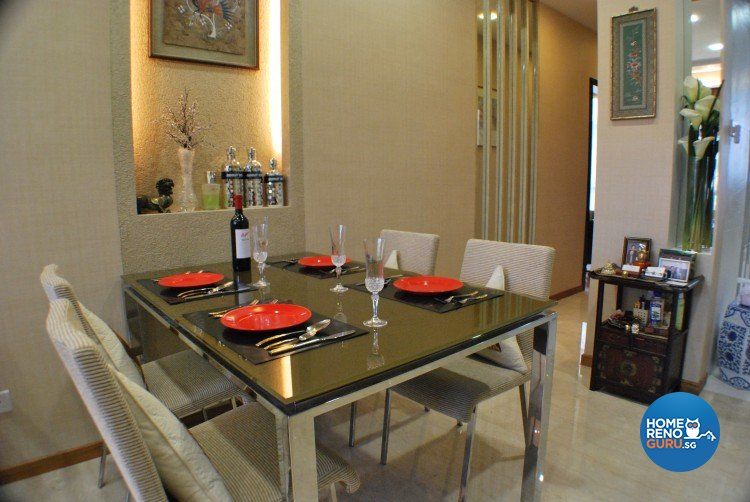 Classical, Contemporary, Modern Design - Dining Room - Condominium - Design by Amazon Interior Design