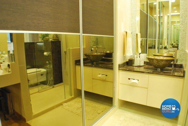 Classical, Contemporary, Modern Design - Bathroom - Condominium - Design by Amazon Interior Design
