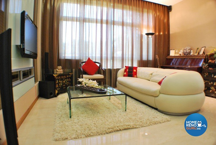 Classical, Contemporary, Modern Design - Living Room - Condominium - Design by Amazon Interior Design