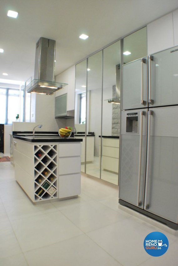 Classical, Contemporary, Modern Design - Kitchen - Condominium - Design by Amazon Interior Design