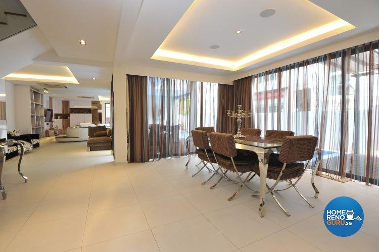 Contemporary, Modern Design - Dining Room - Condominium - Design by Amazon Interior Design