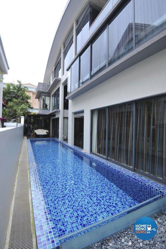 Contemporary, Modern Design - Garden - Condominium - Design by Amazon Interior Design