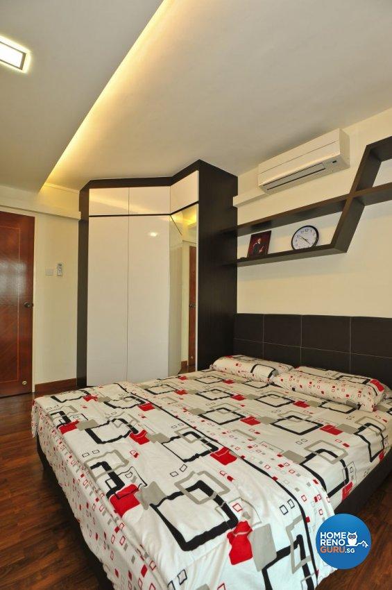 Classical, Retro Design - Bedroom - HDB 4 Room - Design by Amazon Interior Design