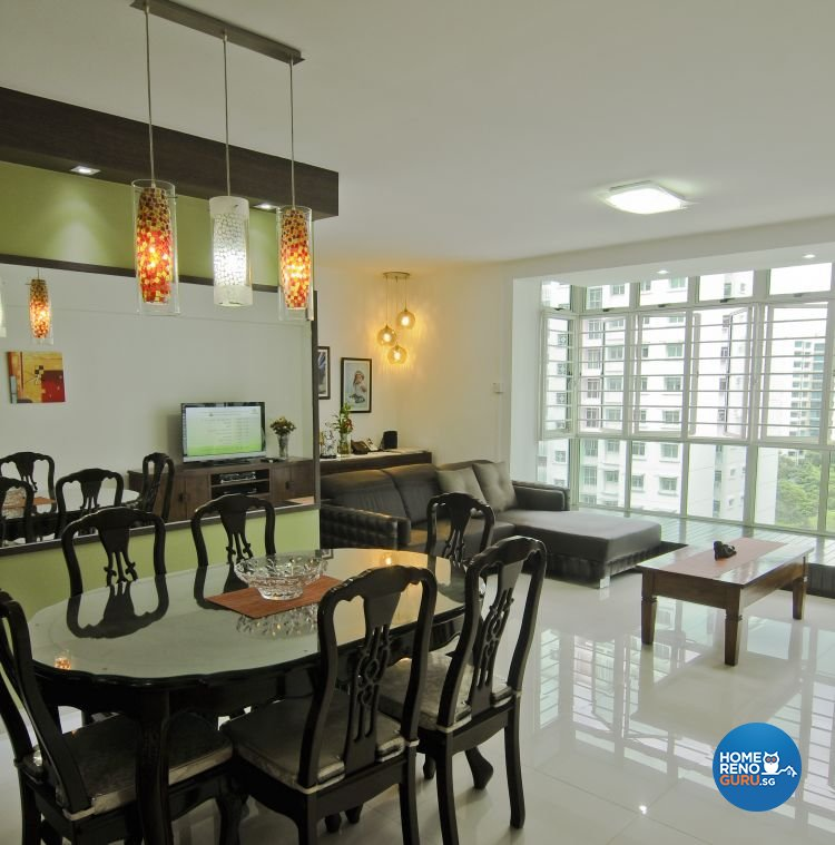 Classical, Retro Design - Dining Room - HDB 4 Room - Design by Amazon Interior Design