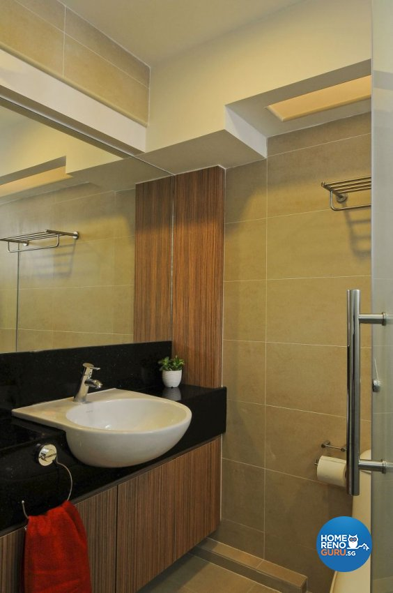 Minimalist, Modern Design - Bathroom - HDB 4 Room - Design by Amazon Interior Design