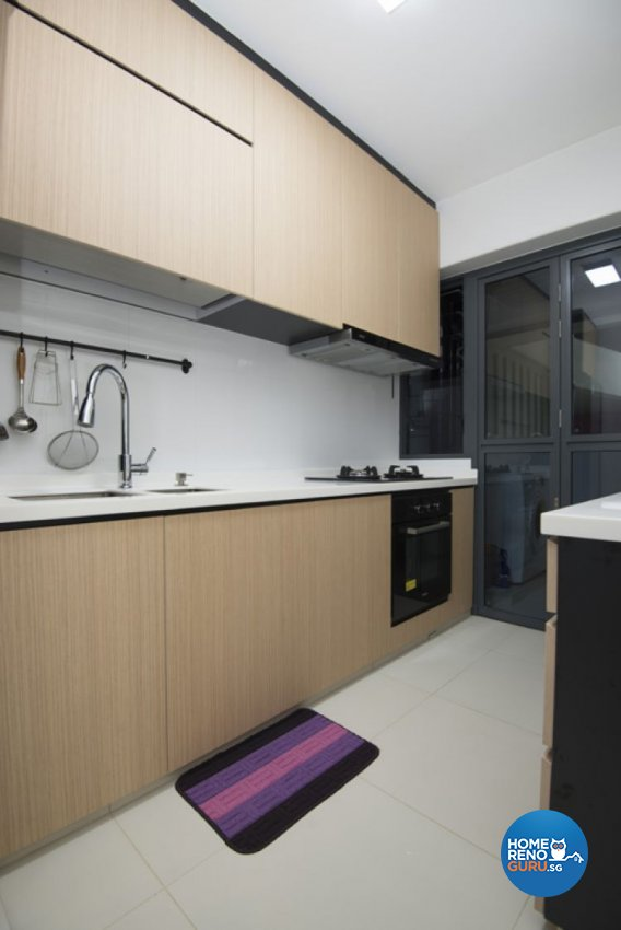 Minimalist, Modern Design - Kitchen - HDB 4 Room - Design by Amazon Interior Design