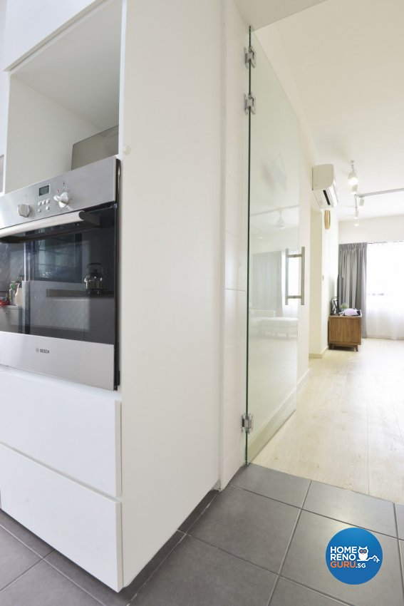 Minimalist, Scandinavian Design - Kitchen - HDB 4 Room - Design by Amazon Interior Design