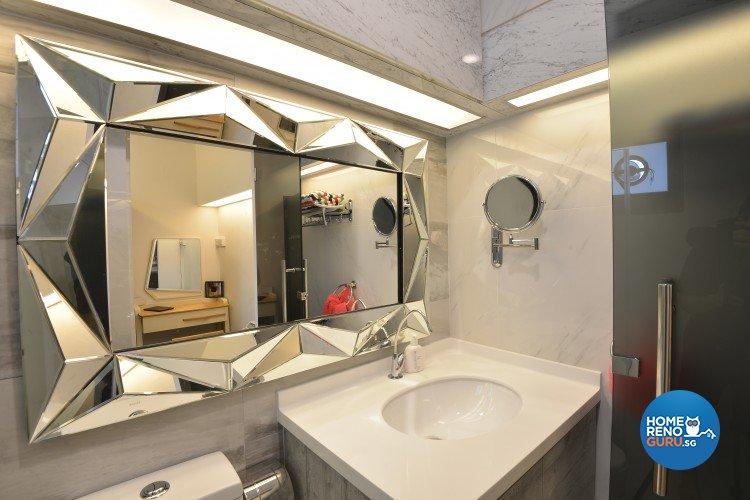 Classical, Contemporary, Modern Design - Bathroom - HDB 5 Room - Design by Amazon Interior Design