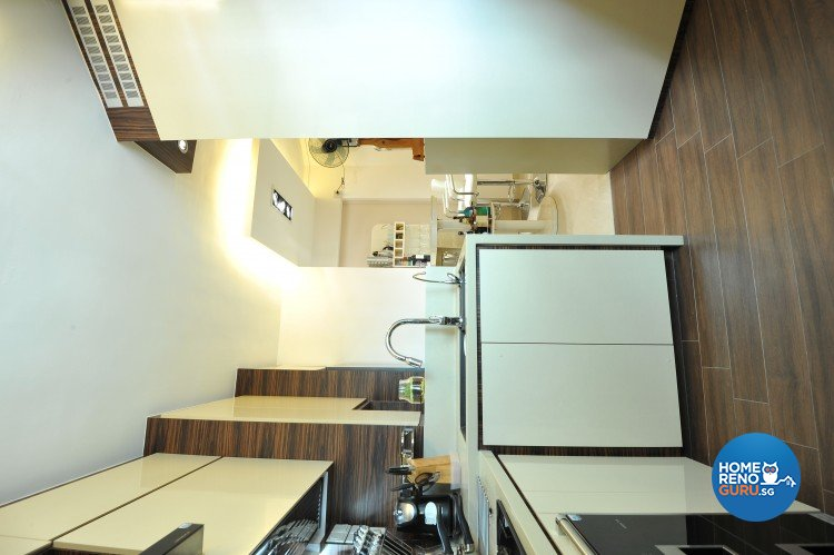 Classical, Contemporary, Modern Design - Kitchen - HDB 5 Room - Design by Amazon Interior Design