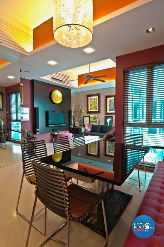 Classical, Contemporary, Country, Industrial, Modern, Rustic, Vintage Design - Dining Room - Condominium - Design by Amazon Interior Design