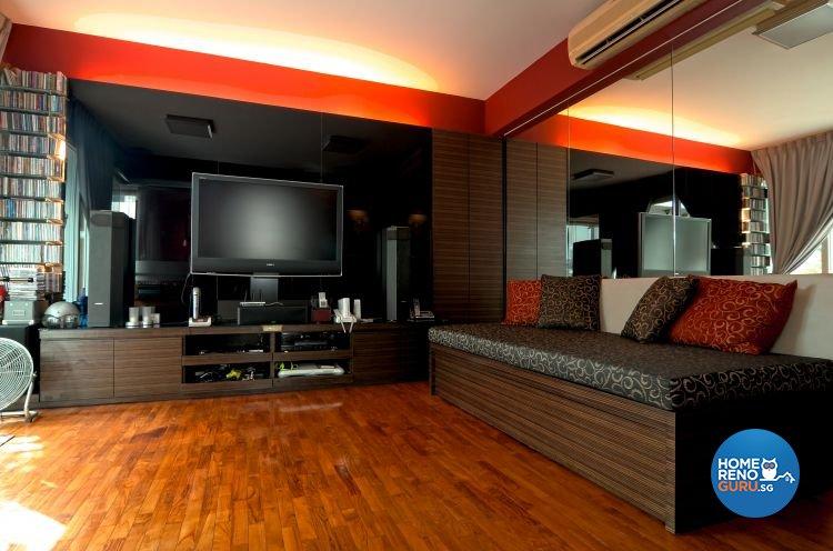 Classical, Contemporary, Country, Industrial, Modern, Rustic, Vintage Design - Living Room - Condominium - Design by Amazon Interior Design