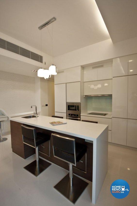 Contemporary, Modern Design - Kitchen - Condominium - Design by Amazon Interior Design