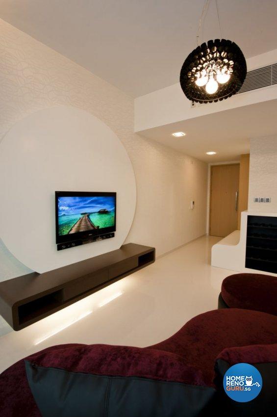 Contemporary, Modern Design - Living Room - Condominium - Design by Amazon Interior Design