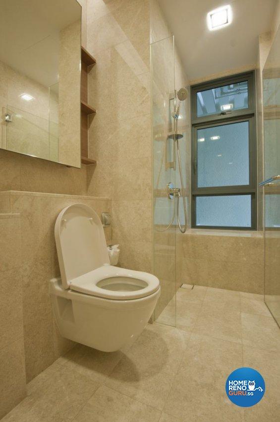 Contemporary, Modern Design - Bathroom - Condominium - Design by Amazon Interior Design