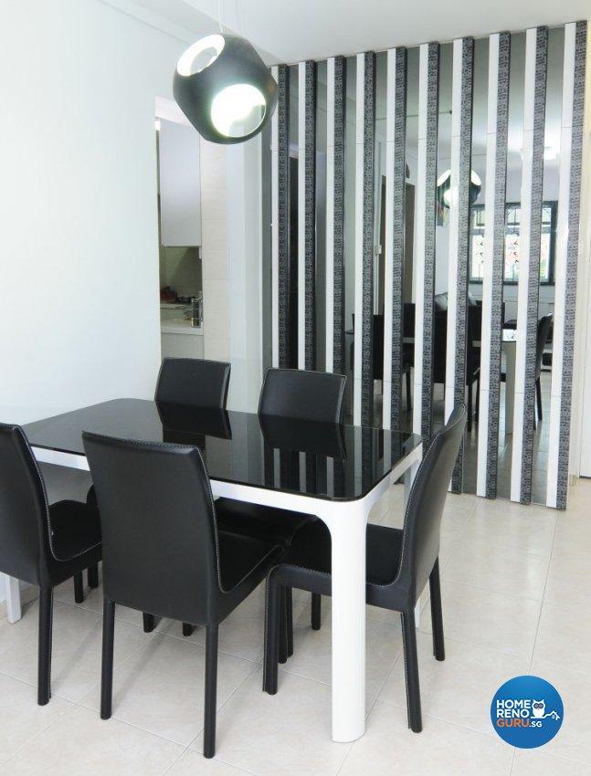 Minimalist, Modern Design - Dining Room - HDB 4 Room - Design by Amazon Interior Design