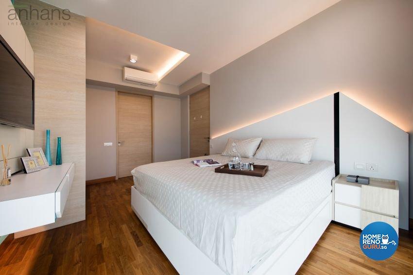 Contemporary, Modern Design - Bedroom - Condominium - Design by Anhans Interior Design Pte Ltd