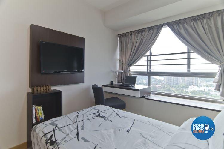Classical, Contemporary Design - Bedroom - HDB 5 Room - Design by Aphrodite  Interior Design