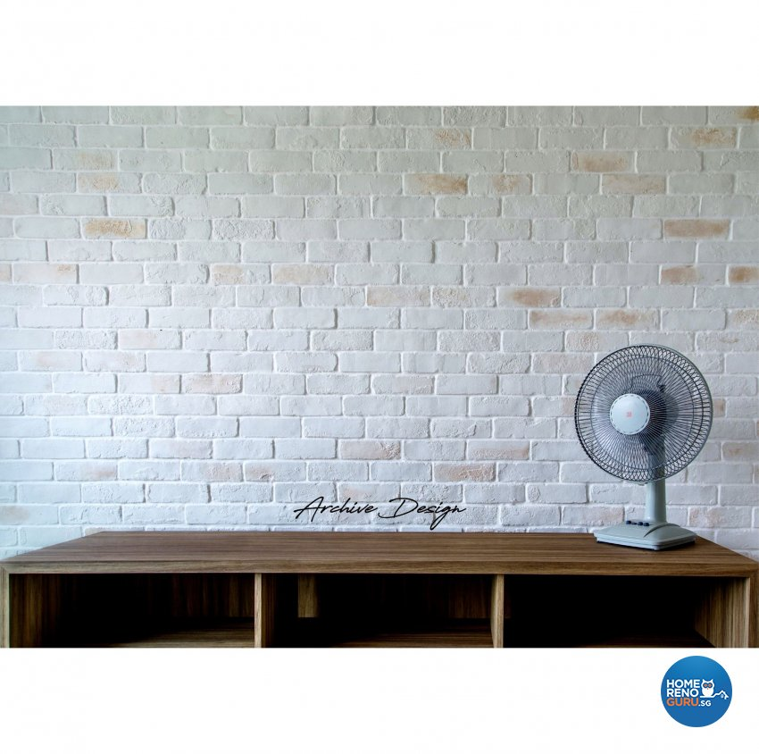 Rustic, Scandinavian Design - Living Room - HDB 4 Room - Design by Archive Interior Design Pte Ltd