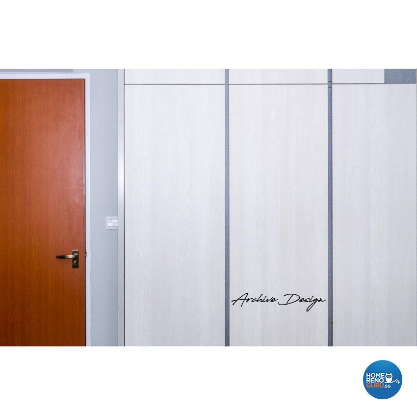 Rustic, Scandinavian Design - Bedroom - HDB 4 Room - Design by Archive Interior Design Pte Ltd
