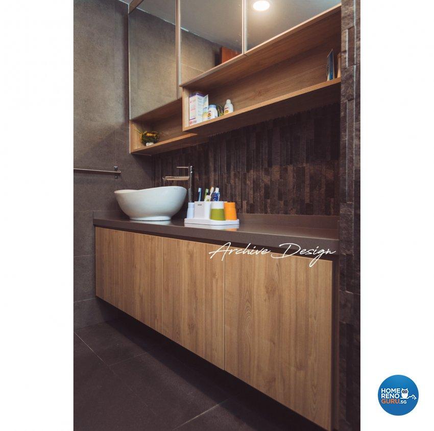 Modern, Resort Design - Bathroom - Condominium - Design by Archive Interior Design Pte Ltd