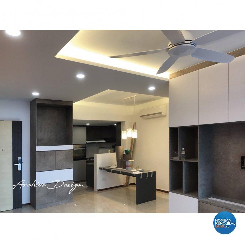 Modern, Resort Design - Living Room - Condominium - Design by Archive Interior Design Pte Ltd