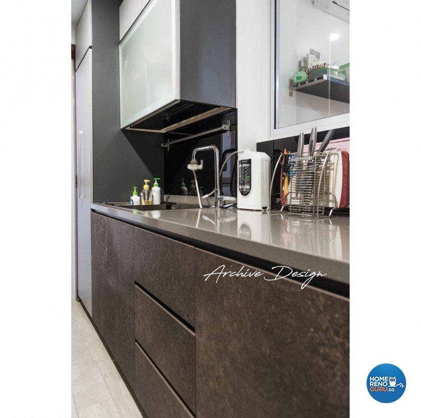 Modern, Resort Design - Kitchen - Condominium - Design by Archive Interior Design Pte Ltd