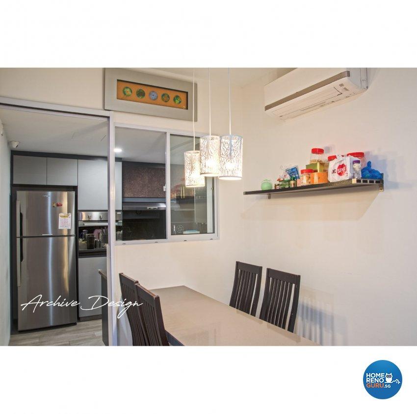 Modern, Resort Design - Dining Room - Condominium - Design by Archive Interior Design Pte Ltd