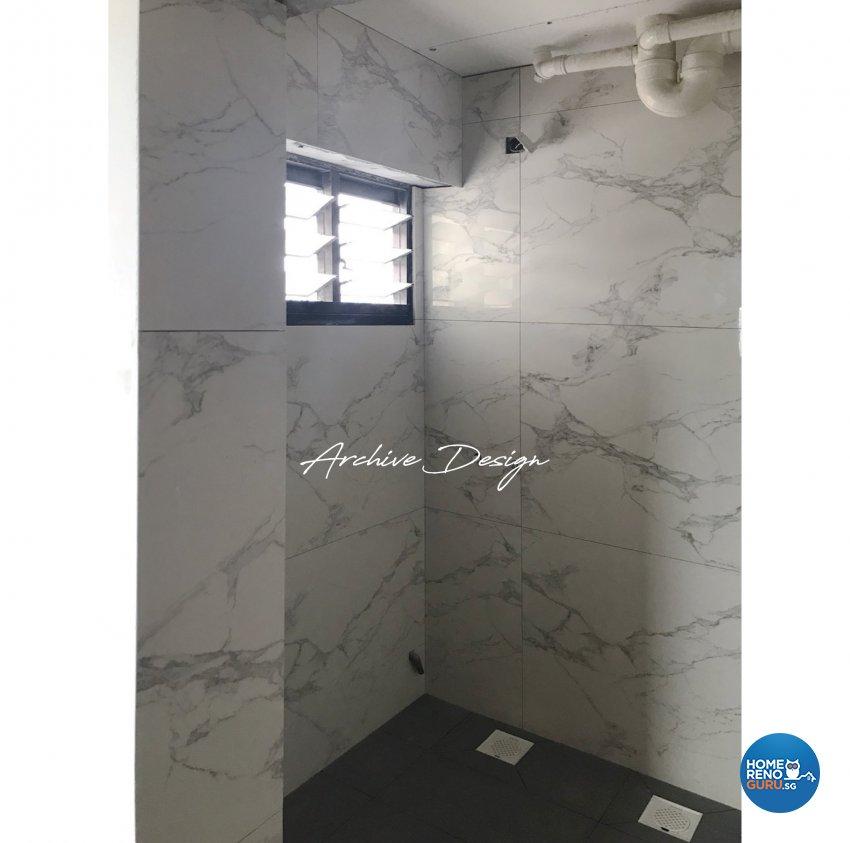 Modern, Scandinavian Design - Bathroom - HDB 4 Room - Design by Archive Interior Design Pte Ltd