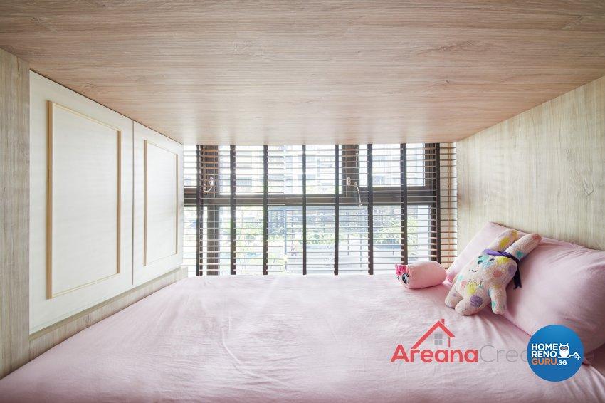Victorian Design - Bedroom - Condominium - Design by Areana Creation Pte Ltd