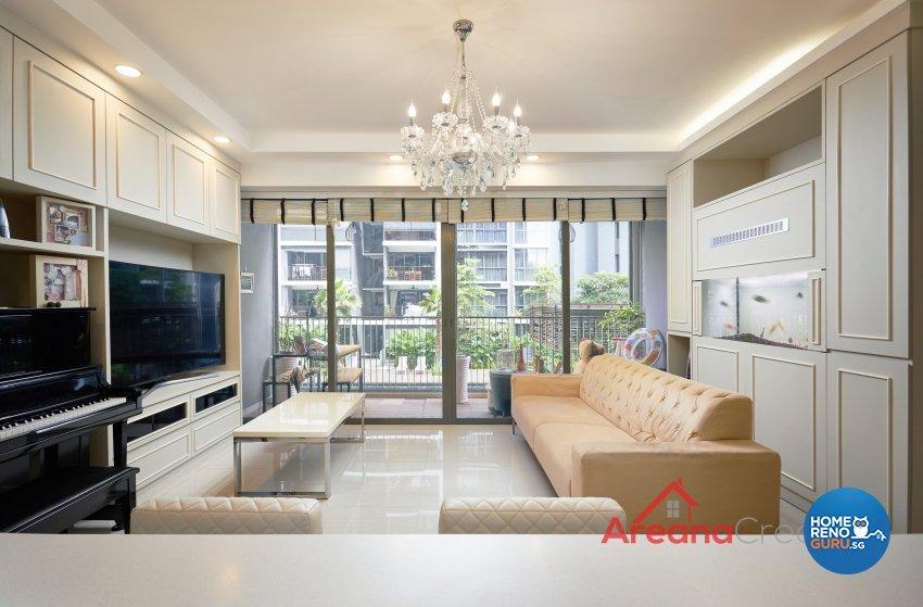 Victorian Design - Living Room - Condominium - Design by Areana Creation Pte Ltd