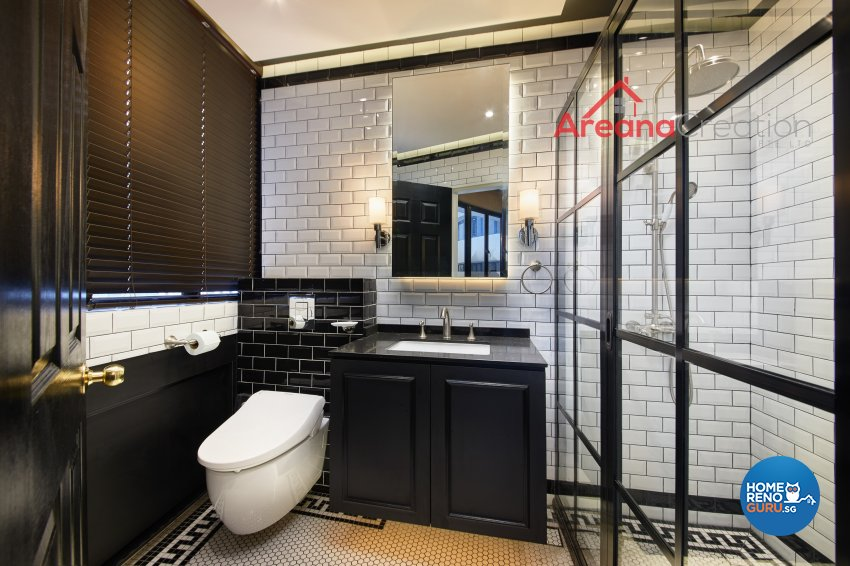 Classical, Modern, Vintage Design - Bathroom - Condominium - Design by Areana Creation Pte Ltd