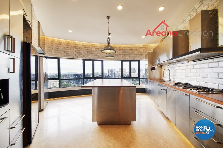 Classical, Modern, Vintage Design - Kitchen - Condominium - Design by Areana Creation Pte Ltd