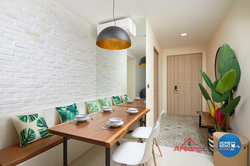 Contemporary Design - Dining Room - Condominium - Design by Areana Creation Pte Ltd