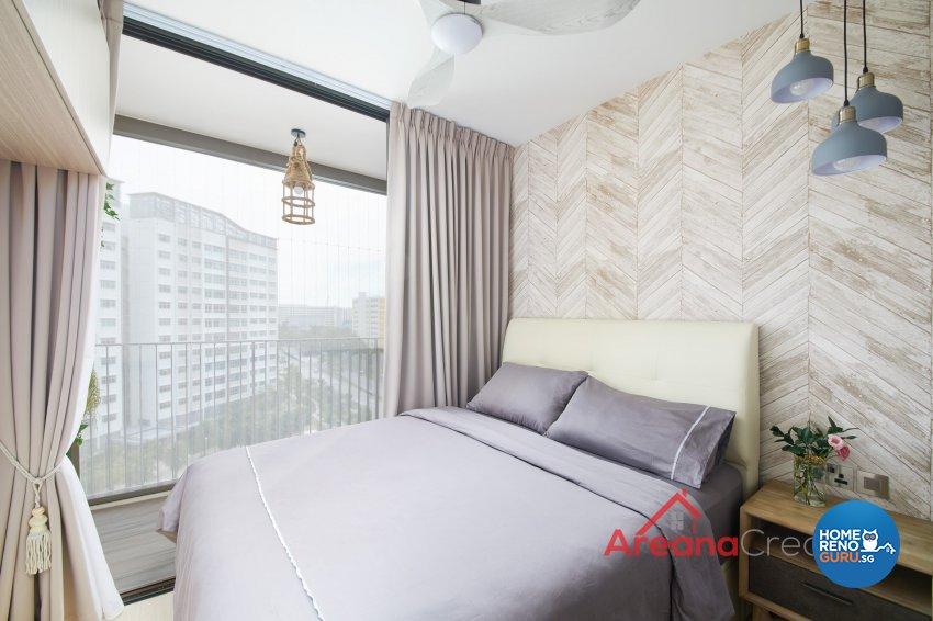 Contemporary Design - Bedroom - Condominium - Design by Areana Creation Pte Ltd