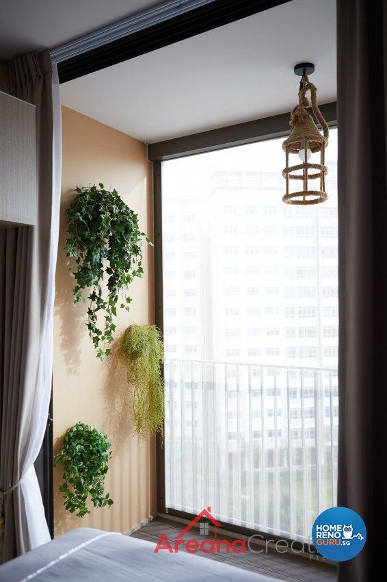 Contemporary Design - Balcony - Condominium - Design by Areana Creation Pte Ltd