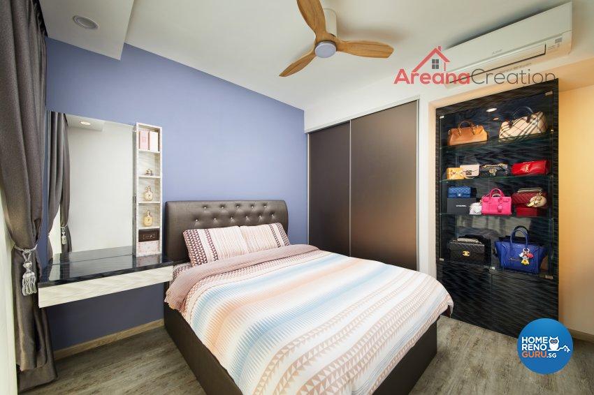 Contemporary, Modern Design - Bedroom - Condominium - Design by Areana Creation Pte Ltd