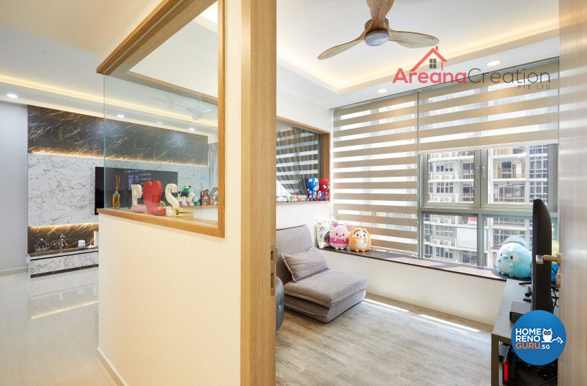 Contemporary, Modern Design - Entertainment Room - Condominium - Design by Areana Creation Pte Ltd