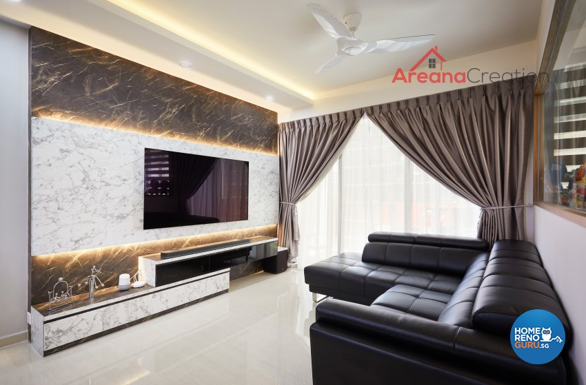 Contemporary, Modern Design - Living Room - Condominium - Design by Areana Creation Pte Ltd