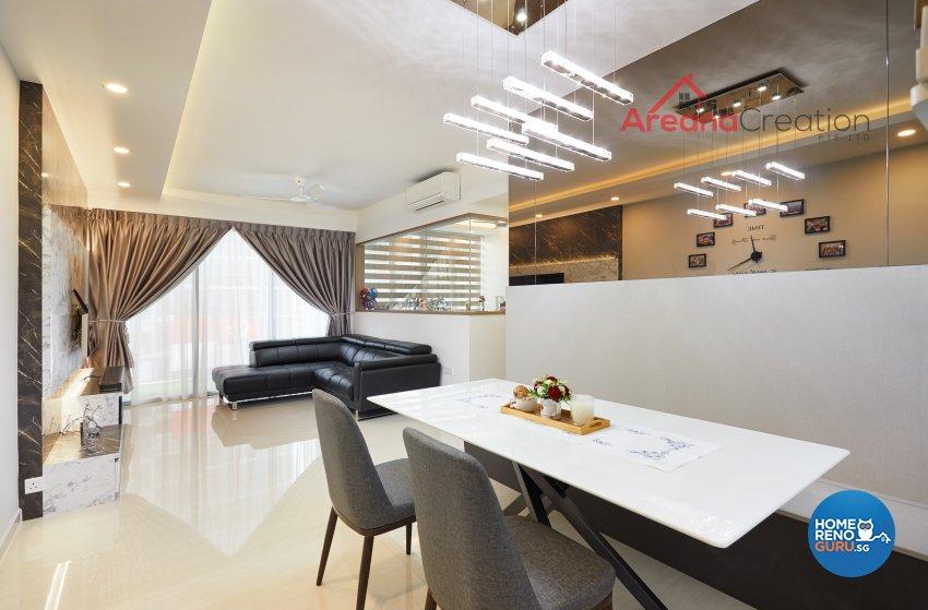 Contemporary, Modern Design - Dining Room - Condominium - Design by Areana Creation Pte Ltd