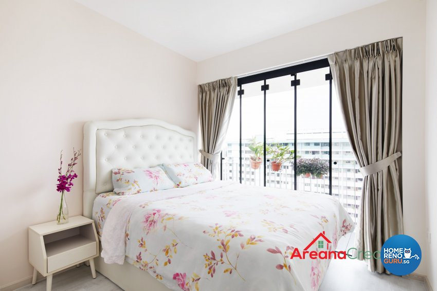 Modern Design - Bedroom - HDB 5 Room - Design by Areana Creation Pte Ltd