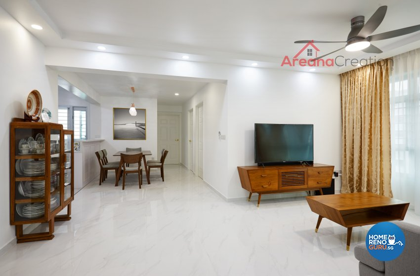 Contemporary, Victorian, Vintage Design - Living Room - Others - Design by Areana Creation Pte Ltd