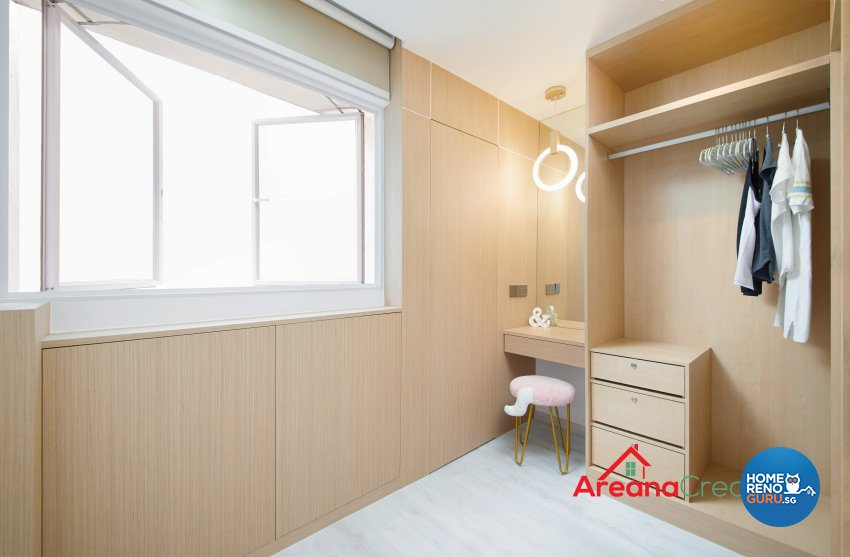 Modern, Scandinavian Design - Bedroom - HDB 4 Room - Design by Areana Creation Pte Ltd