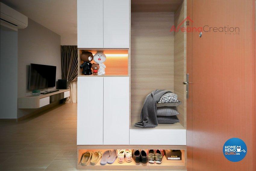 Minimalist, Scandinavian Design - Kitchen - Condominium - Design by Areana Creation Pte Ltd