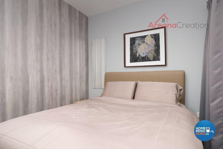 Minimalist, Scandinavian Design - Bedroom - Condominium - Design by Areana Creation Pte Ltd