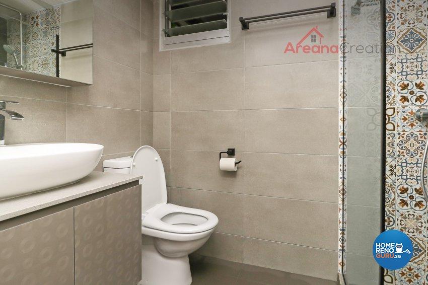 Minimalist, Scandinavian Design - Bathroom - Condominium - Design by Areana Creation Pte Ltd