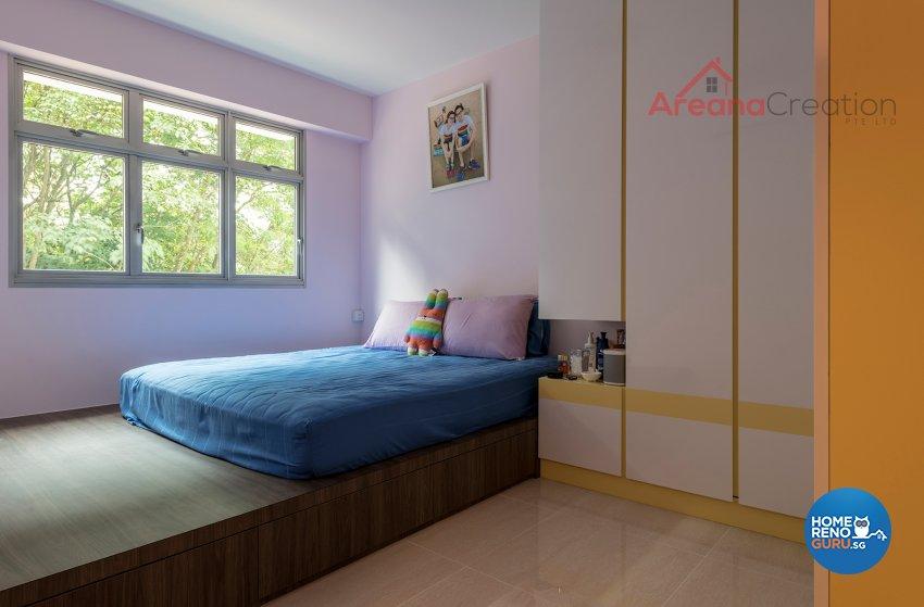 Scandinavian Design - Bedroom - HDB 4 Room - Design by Areana Creation Pte Ltd