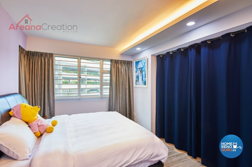 Contemporary, Modern Design - Bedroom - HDB 5 Room - Design by Areana Creation Pte Ltd